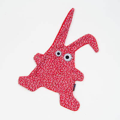 Doudou Toumou - Rabbit liberty rouge / blanc (photo 1/1)