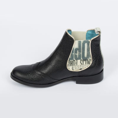 Bottines Catherine Parra - Jonquille noir