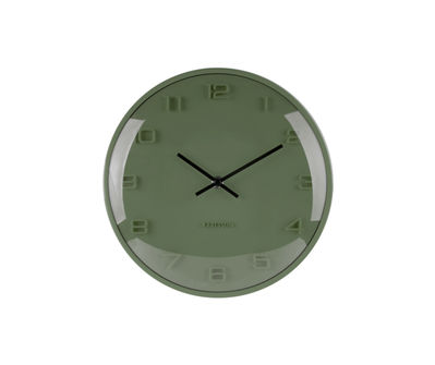 Horloge Mini Elevated Dome Kaki
