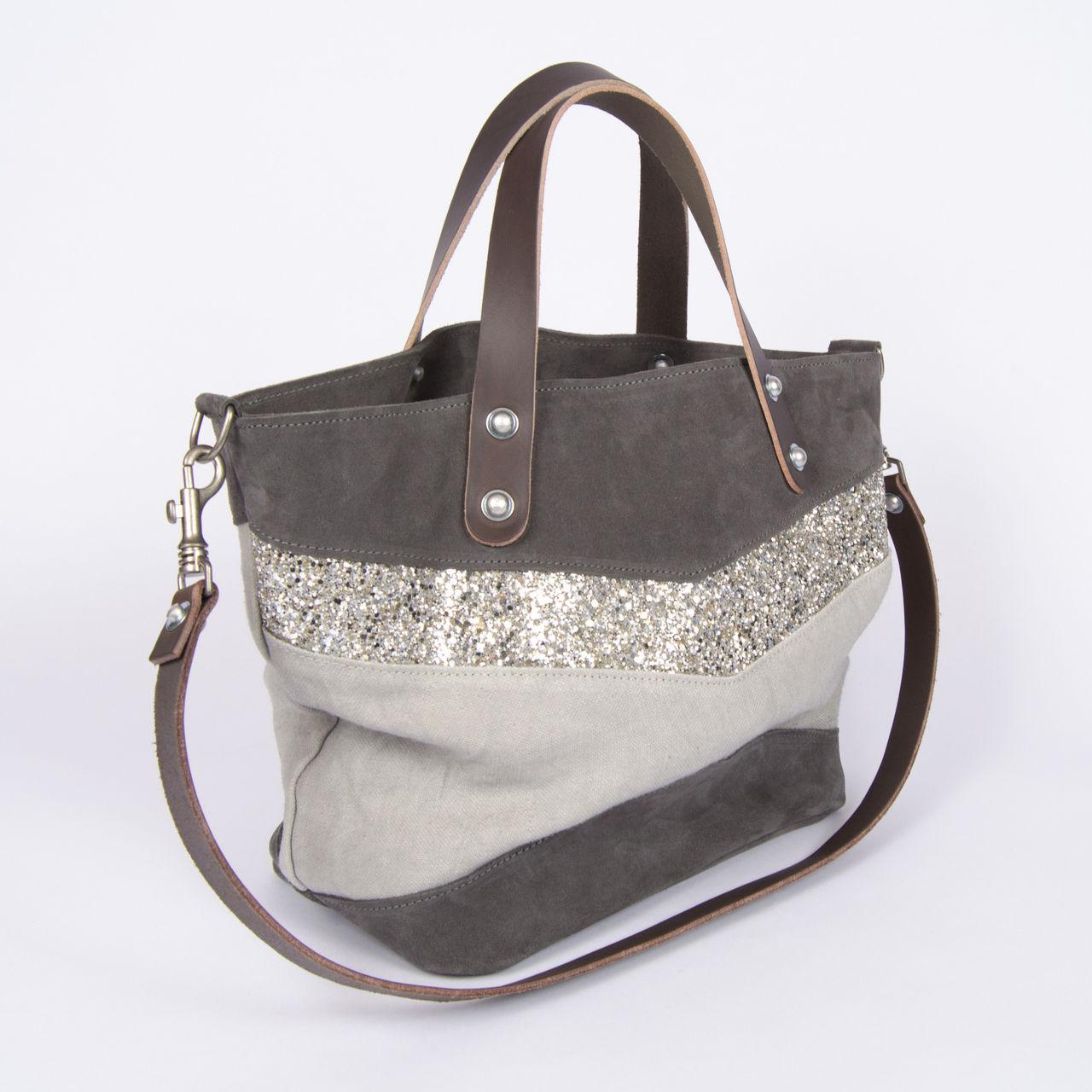 boutique la femme sacs estellon sac estellon marie motel gris. Black Bedroom Furniture Sets. Home Design Ideas