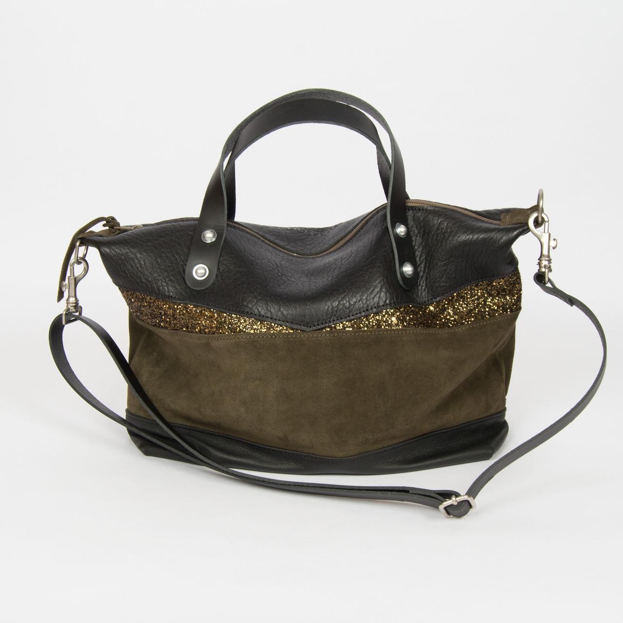 boutique la femme sacs estellon sac estellon sarah one militaire. Black Bedroom Furniture Sets. Home Design Ideas