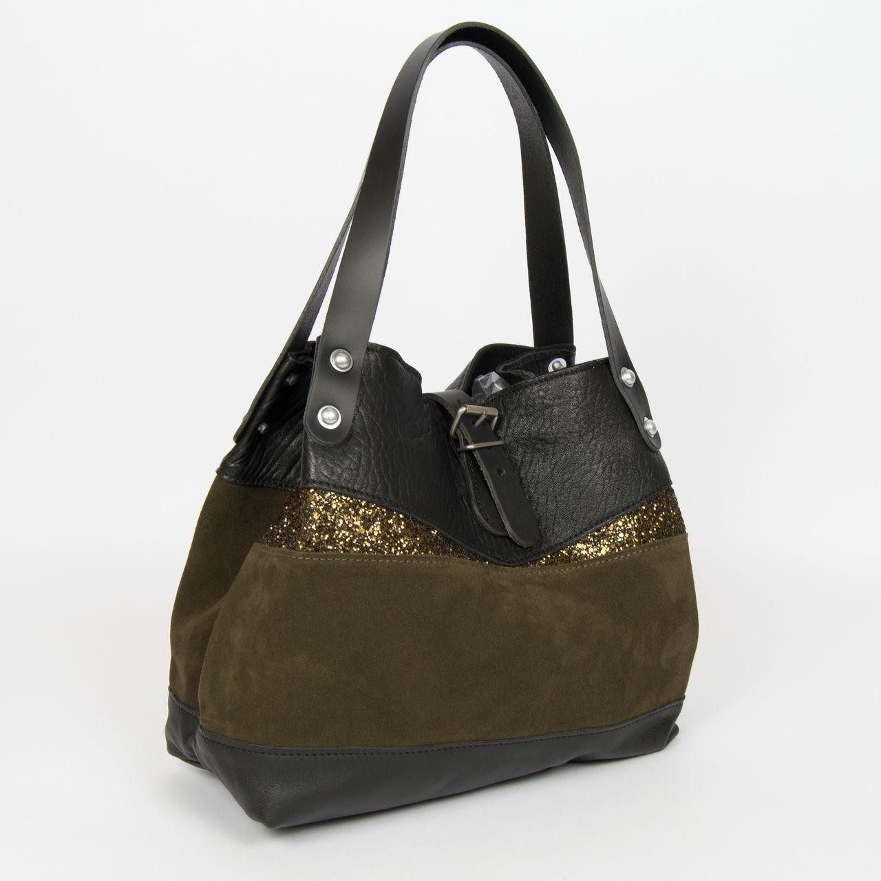 boutique la femme sacs estellon sac estellon rony one militaire. Black Bedroom Furniture Sets. Home Design Ideas